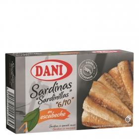 Sardinillas Premium en escabeche Dani 65 g.