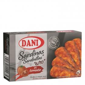 Sardinillas Premium en tomate Dani 65 g.
