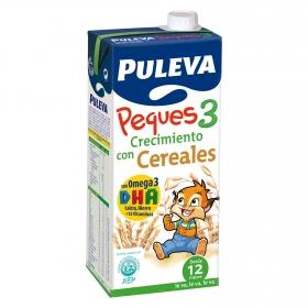 Leche 3 de crecimiento con cereales líquida Peques 3