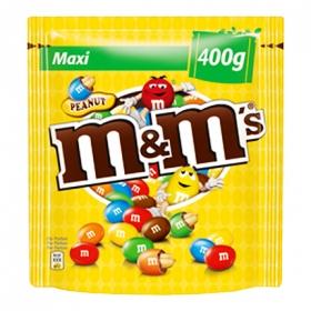Cacahuete cubierto de chocolate m&m's 400 g.