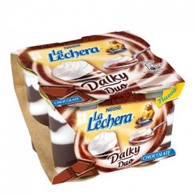 Copa Dalky Duo de chocolate y nata