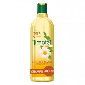 Champú Camomila Reflejos Dorados para cabello rubio/castaño claro
