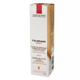 Fondo de maquillaje corrector fluido Nº13 Toleriane La Roche-Posay 30 ml.