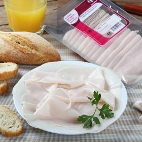Pechuga de pollo en lonchas finas