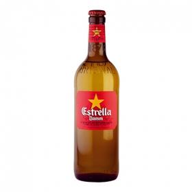 Cerveza Estrella Damm mediterránea botella