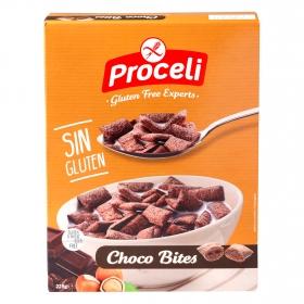 Cereales Choco Bites Proceli sin gluten 225 g.
