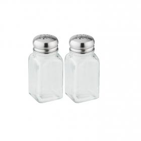 Set Saleros Pouring & Dispensing 10cm Transparente