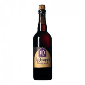 Cerveza La Trappe Quadrupel holandesa tostada botella 75 cl.