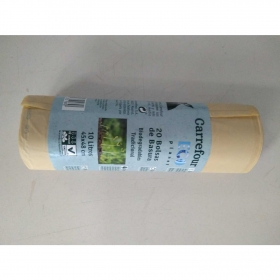Bolsa de Basura Biodegradable CARREFOUR Eco Planet 20 ud 10 l