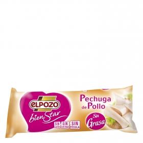 Pechuga de pollo sin grasa El Pozo Bienstar sin gluten y sin lactosa 400 g.
