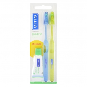 Cepillo dental suave