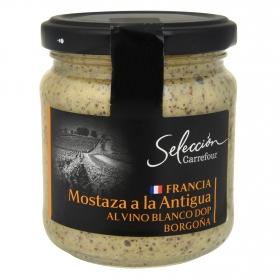 Mostaza Carrefour Selección tarro 210 g.