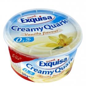 Quark vainilla karwendwel Exquisa 500 g.