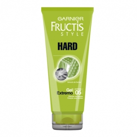 Gel fijador hard glue Garnier Fructis 200 ml.