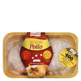Roti pollo relleno