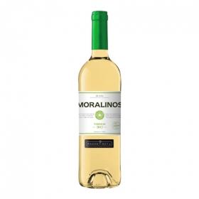 Vino D.O. Rueda blanco moralinos verdejo Pagos del Rey 75 cl.