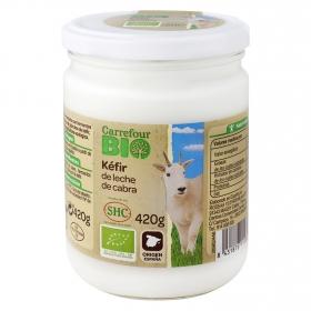 Yogur kéfir leche de cabra