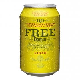 Cerveza sin alcohol 0,0% con limón