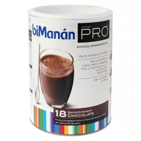 Batido hiperproteico sabor chocolate
