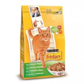 Comida para gatos Adultos con Conejo y Pollo