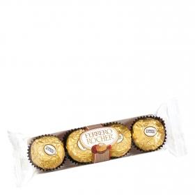 Bombones de chocolate con leche y avellana