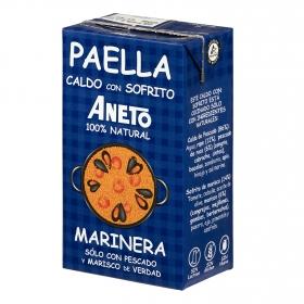 Caldo de Paella de pescado