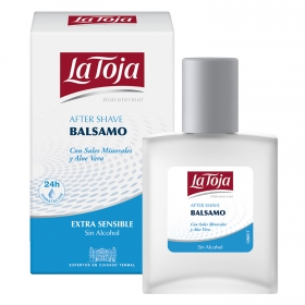 After Shave Balsam extra sensitive La Toja 100 ml.