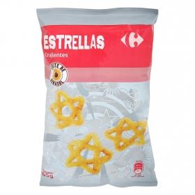 Estrellas de maíz crujientes Carrefour 65 g.