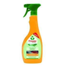 Limpiador vitro e inducción naranja