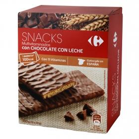 Galletas multivitaminadas de chocolate con leche