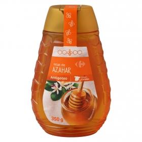 Miel de azahar antigoteo Carrefour 350 g.