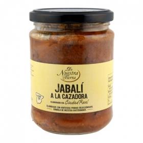Jabali en salsa