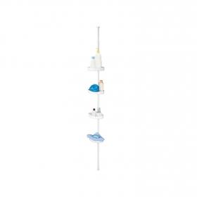 Soporte de ducha de 16cm MSV - Blanco