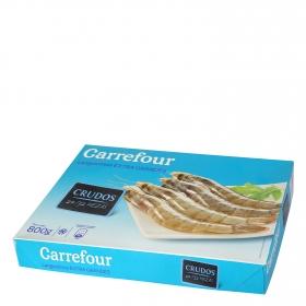 Langostino extra grandes crudos Carrefour 800 g.