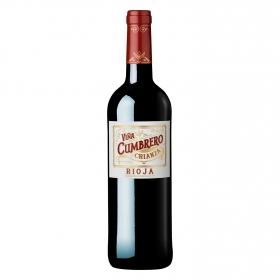 Vino D.O. Rioja tinto crianza Viña Cumbrero 75 cl.