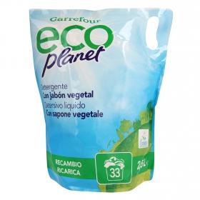 Detergente líquido ecológico Carrefour Eco Planet 2,5 l.