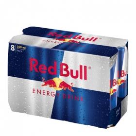 Bebida energética Red Bull pack de 8 latas