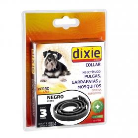 Collar insectifugo para perro negro