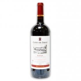 Vino D.O. Rioja tinto reserva Coto de Imaz 1,5 l.