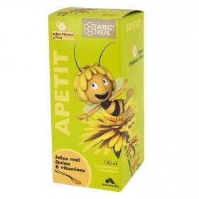 Jarabe Apetit niños de jalea real, Quina y 8 vitaminas