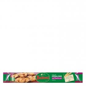 Masa de hojaldre rectangular tartas y respostería Buitoni 230 g.