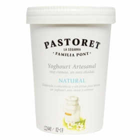 Yogur artesanal natural