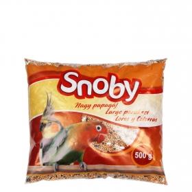 Comida para Loros y Cotorras Snoby 500 gr