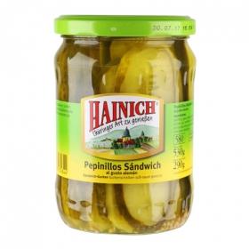 Pepinillos sandwich Hainich 530 g.