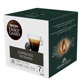Café espresso intenso en cápsulas Nescafé Dolce Gusto 16 unidades de 8 g.