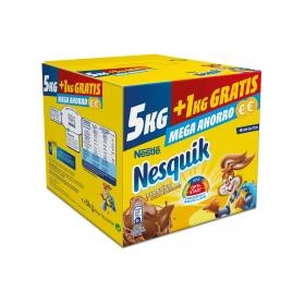 Cacao soluble instantáneo Nestlé Nesquik sin gluten 5 kg.
