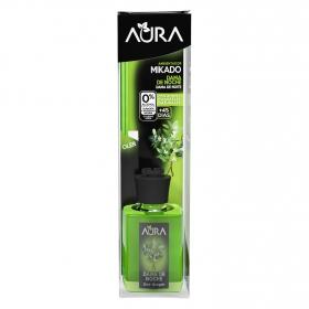 Ambientador varillas dama de noche Aura 30 ml.