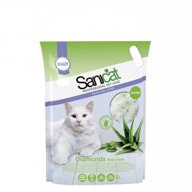 Aloe Vera para Gato Sanicat Silice Bolsa Plástico
