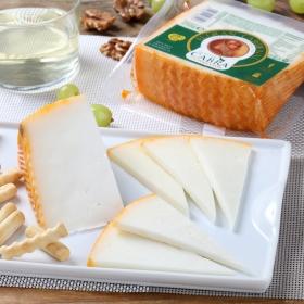 Cuña queso cabra con pimentón