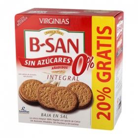 Galletas B-San integrales sin azúcar